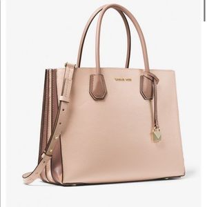 NWT Michael Kors Mercer Small Tote Soft Pink